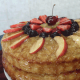 Coconut Plantain Cake